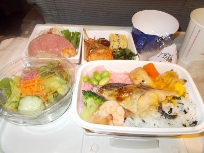 機内食日航