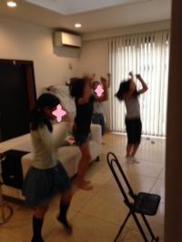 娘と友達 飛翔