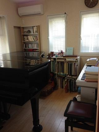 大庭邸 ピアノ室 ビフォー