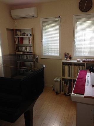 大庭邸 ピアノ室 アフター