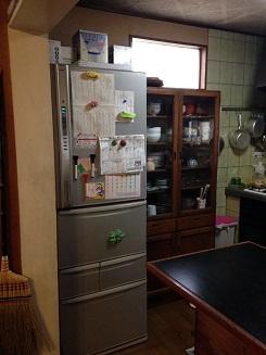 中井邸 キッチン冷蔵庫 アフター