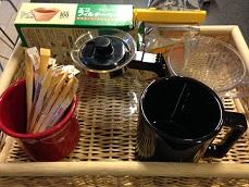 資料用写真 キッチン コーヒーセット