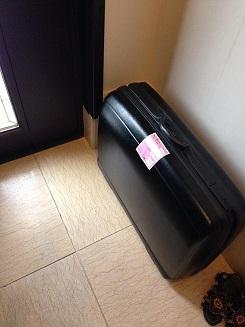スーツケース処分2