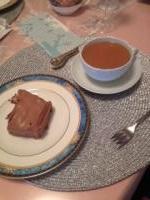 細野邸 紅茶レッスン ケーキ