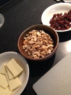 レーズンナッツチーズ1