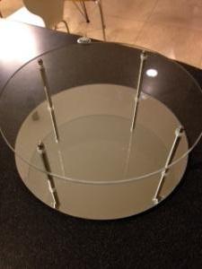 ガラスサークルスタンド 組立