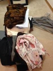 クローゼット整理 処分衣類