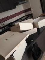 バッグと靴の空き箱