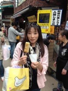 鎌倉 小町通り 卵焼き