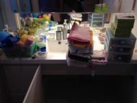 大庭邸 洗面室整理 物出し3
