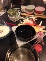 食器の整理 不用品区別