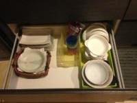 キッチン 食器引出し アフター3