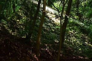 岩国城二の丸の石垣