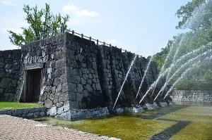 吉香公園の噴水