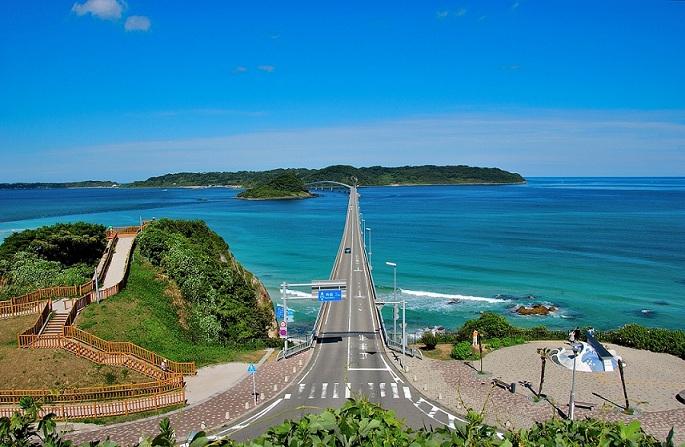 沖縄の絶景 角島大橋