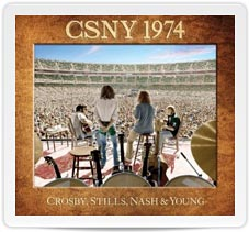 CSNY1974 Cover Artwork