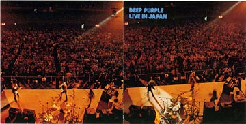 Live In Japan gatefold sleeve