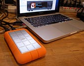LaCie HDD + PowerBook Pro