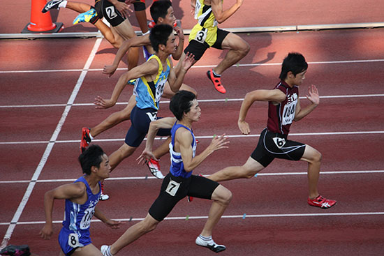 140906由雅100m決