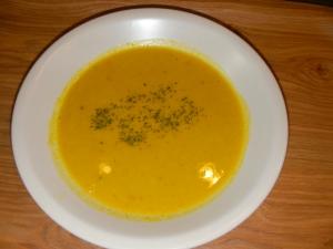 9月16日かぼちゃスープ 001