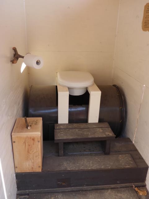 コンポストトイレ