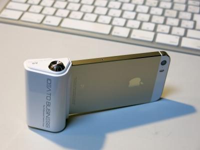 iPhoneカメラシャッターボタンアダプター1