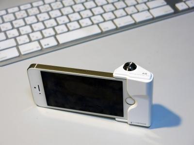 iPhoneカメラシャッターボタンアダプター2