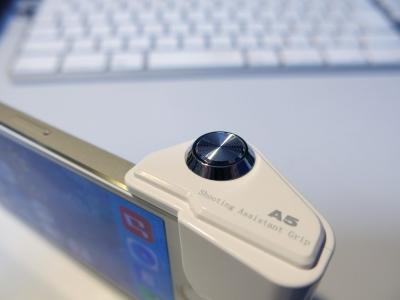 iPhoneカメラシャッターボタンアダプター3