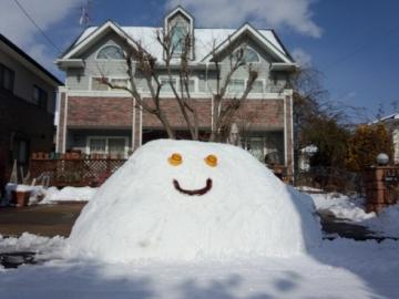 雪だるまもどき?