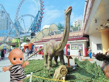 アパトサウルスです