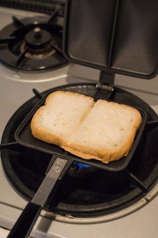 トースター代わりのバウルー
