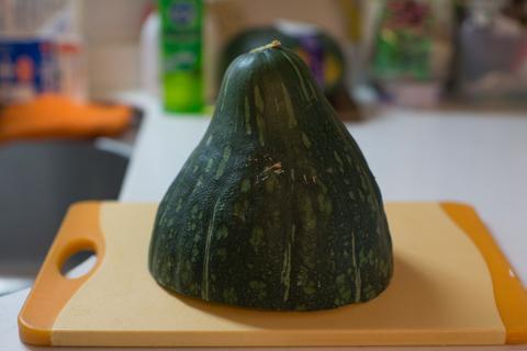 小淵沢のかぼちゃ