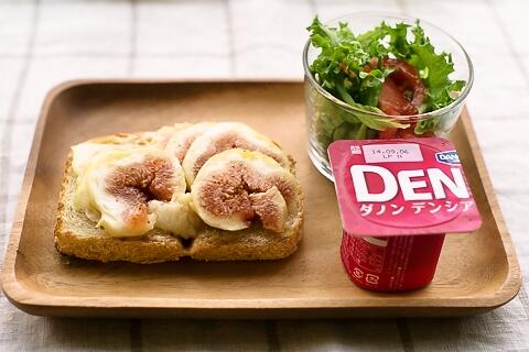 20140823クリームチーズいちじくトースト