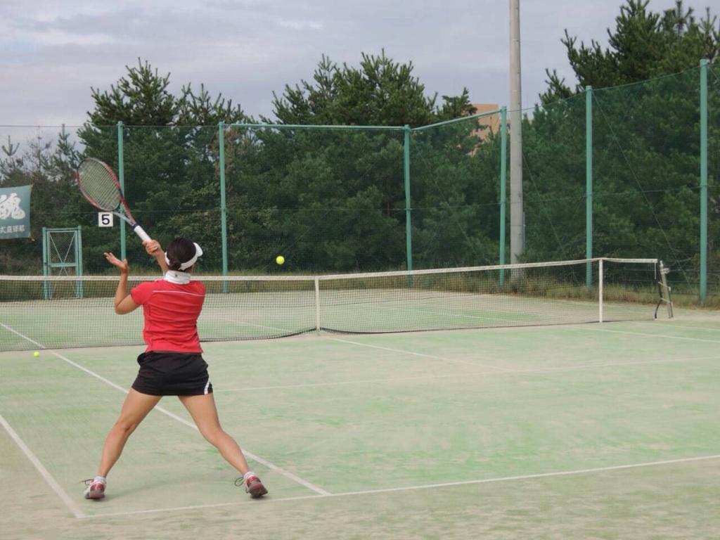 下野コーチテニス
