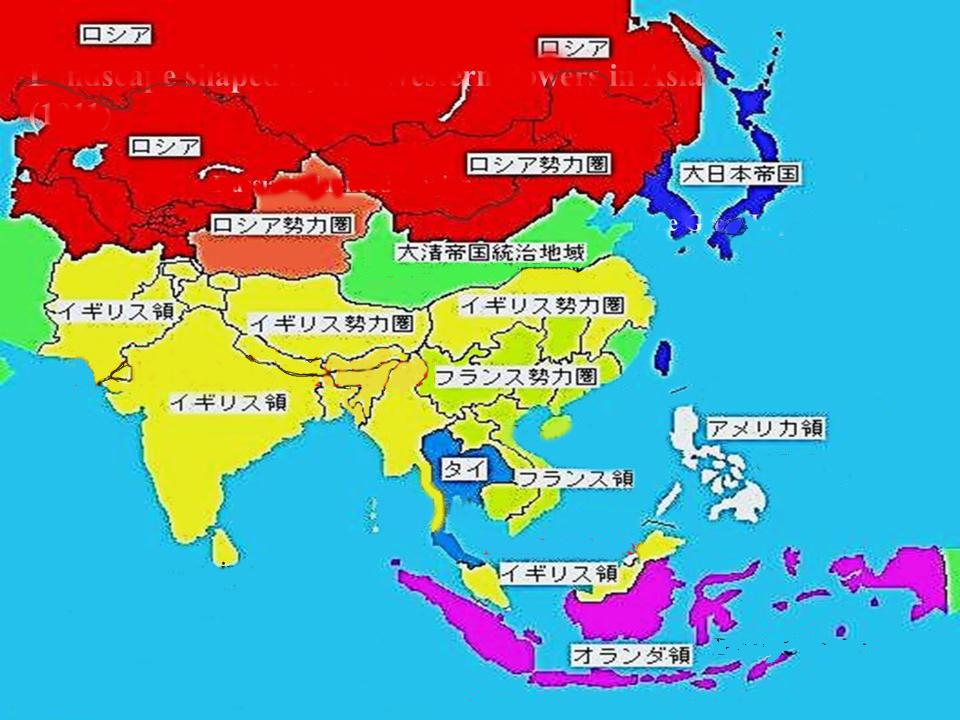 の現在、 【どこの国がアジア ...