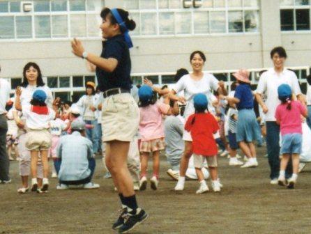 親子でダンス