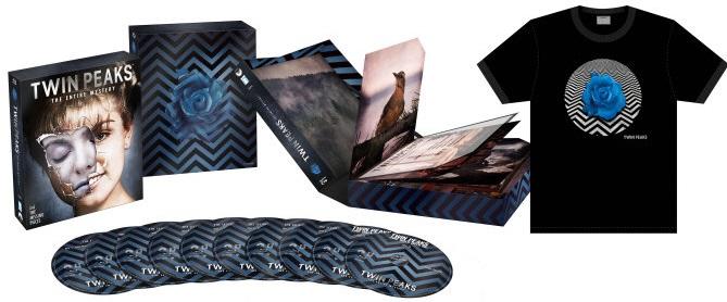TWIN PEAKS Blu BOX