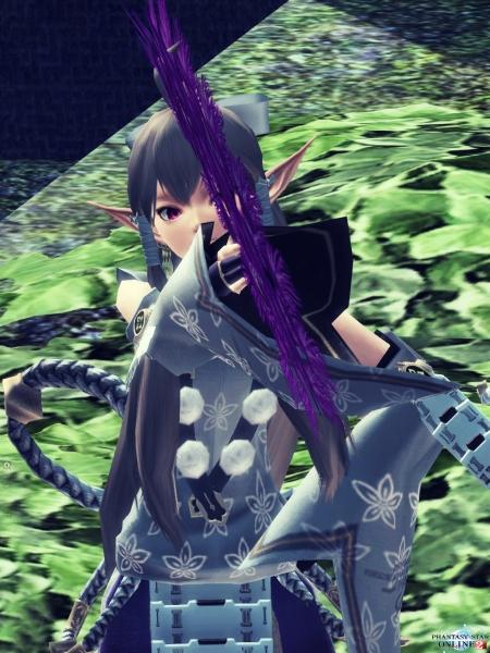 PSO2 兎紫 ダンス22