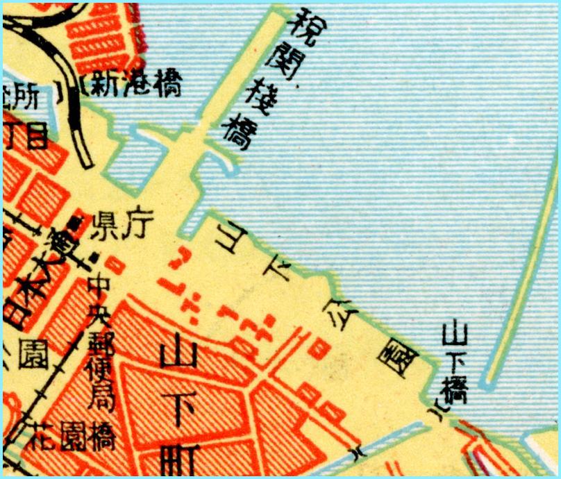 lig_昭和27年山下公園あたり観光案内記マップ