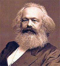 カール・マルクス肖像
