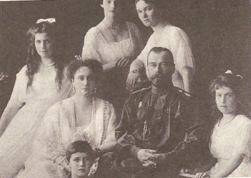 ロマノフ皇帝一家肖像