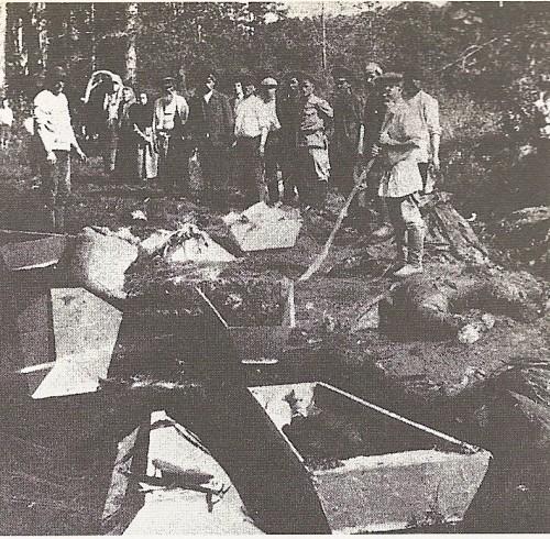 1918年秋エカチェリンブルク近辺