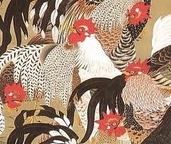 伊藤若冲 軍鶏2