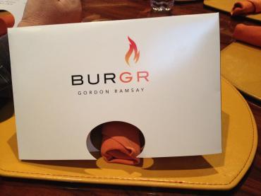 Gordon Ramsay BurGR