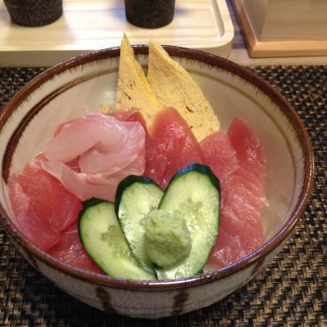 十割蕎麦 寿司 白花