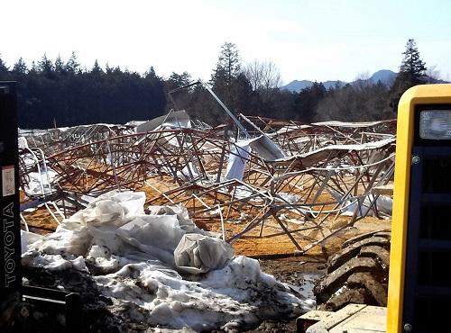 民主党栃木県連≪雪害被害に関する現地調査≫!速報3⑩