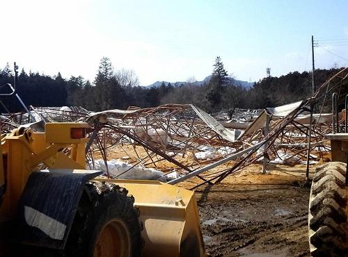 民主党栃木県連≪雪害被害に関する現地調査≫!速報3⑪