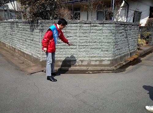 落合誠記 壬生町議候補 応援に!④