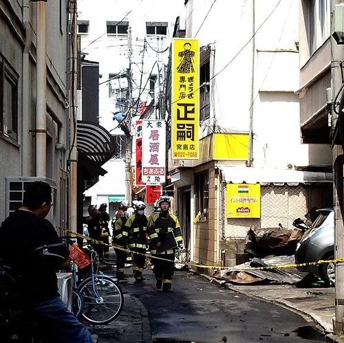 宇都宮市 市街地で現在火災発生中!②