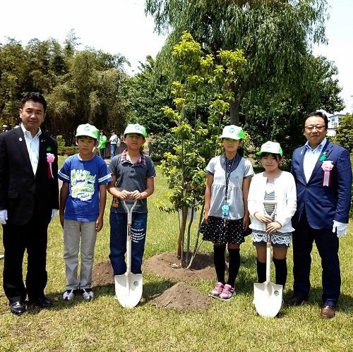 栃木県≪植樹祭≫!